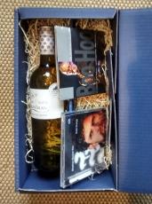 Geschenkbox mit 1 Flasche Wein