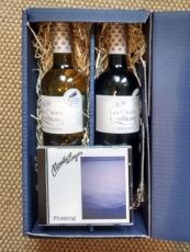 Geschenkbox mit 2 Flaschen Wein